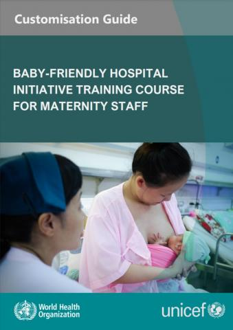 BFHi training course for maternity staff